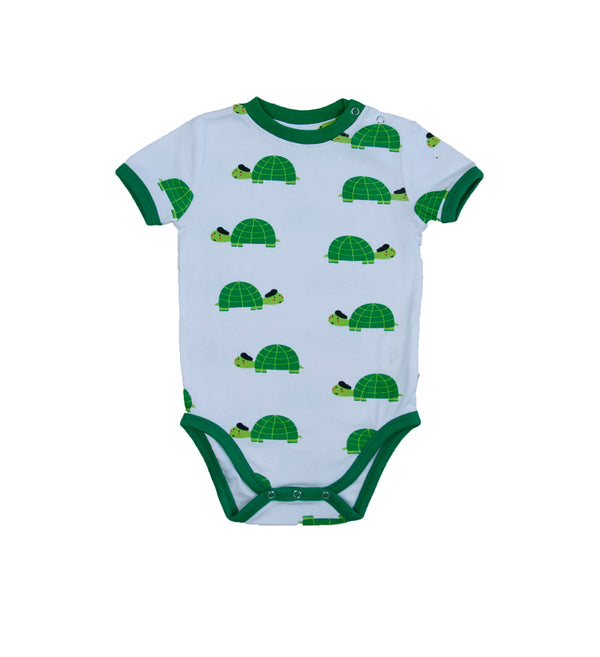 Happy Turtle - Baby Bodysuit