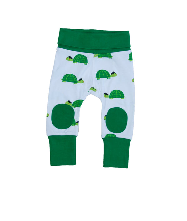 Happy Turtle - Baby pants with knee patches