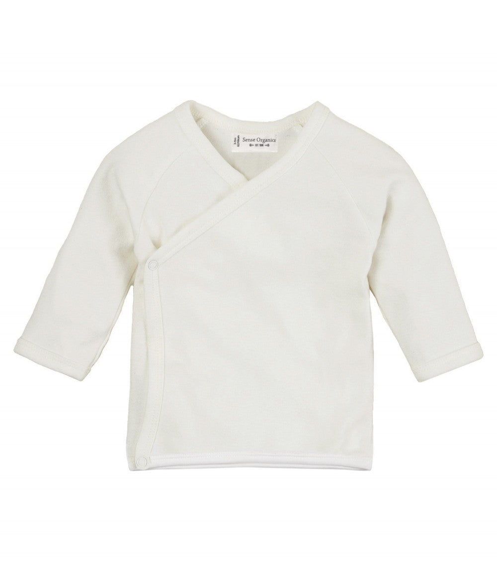 Baby Wrapshirt longsleeves Victoria Victoria in Organic Cotton