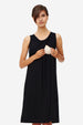 Zilja - Sleeveless nursing dress with pleat
