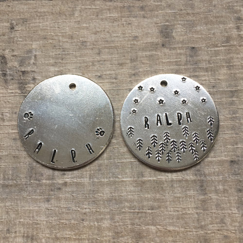 Hand Stamped Tag - Coming Soon
