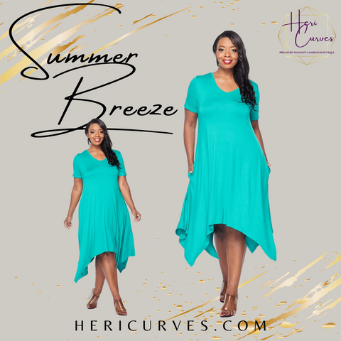 Summer Breeze Plus Size Tunic Dress