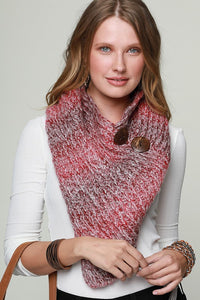 Zari Knit Tube Scarf