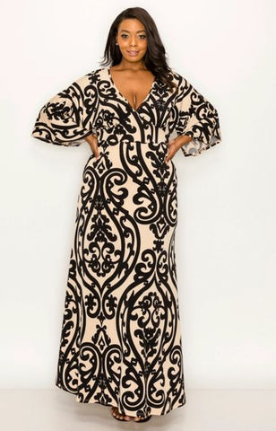 Primetime Plus Size Maxi Dress