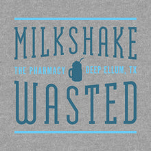 Milkshake Wasted Text - T-shirt