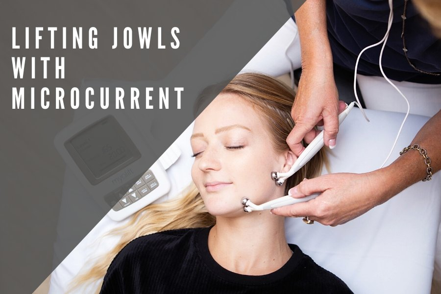 Lifting Jowls with Microcurrent | 7E Wellness