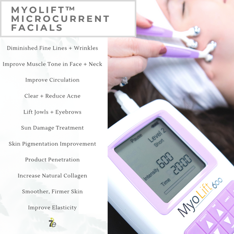 benefits of a true microcurrent facial
