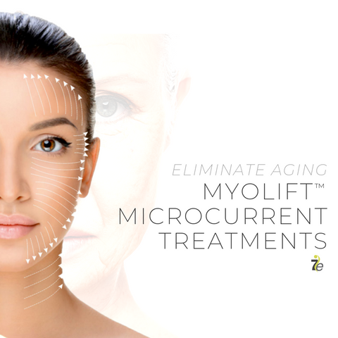 eliminate aging with MyoLift microcurrent treatments