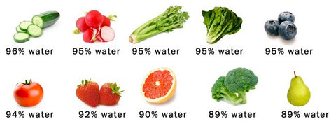 vegetables that have high water content to boost hydration and overall health
