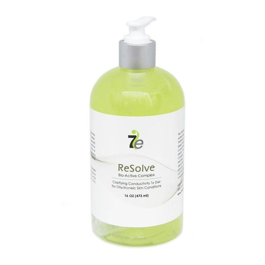 16oz ReSolve Clarifying Conductive Gel For Oily Skin with Bio-Active Complex - 7E Wellness