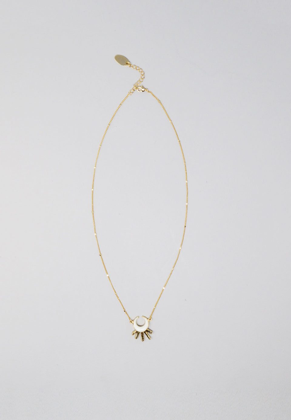 Stella Necklace in Bone - ANTHER a shop