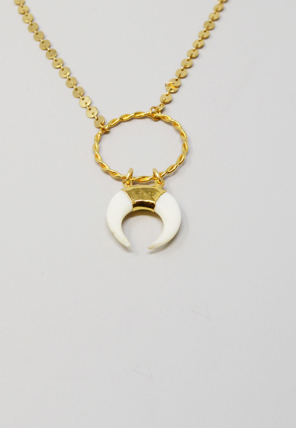 Ceres Bone Necklace - ANTHER a shop