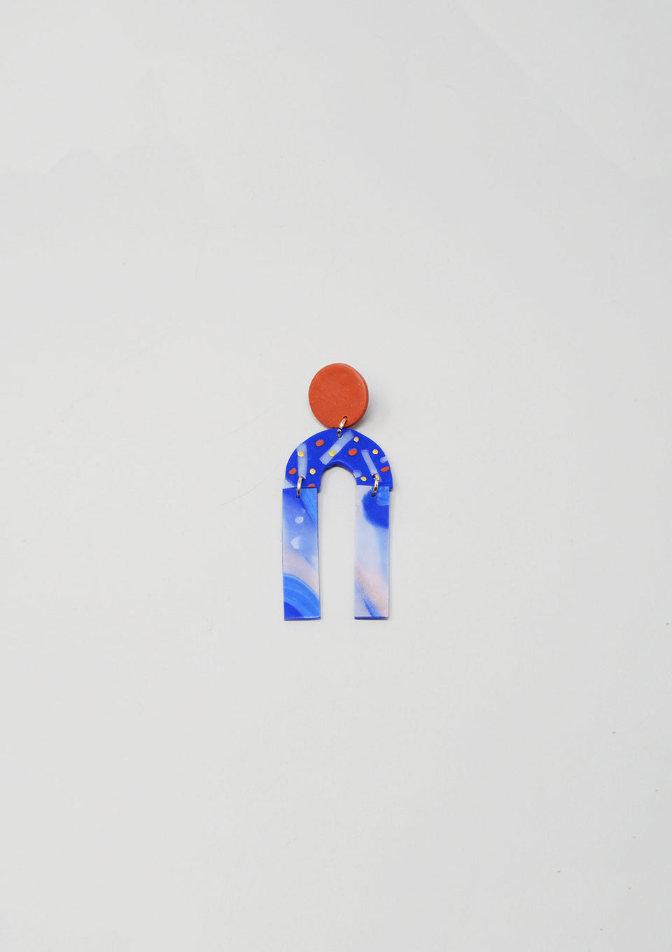 Femme Earrings Blue - ANTHER a shop