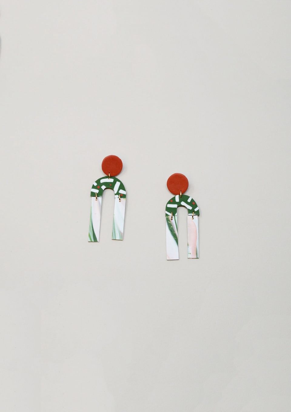 Femme Earrings, Green - ANTHER a shop