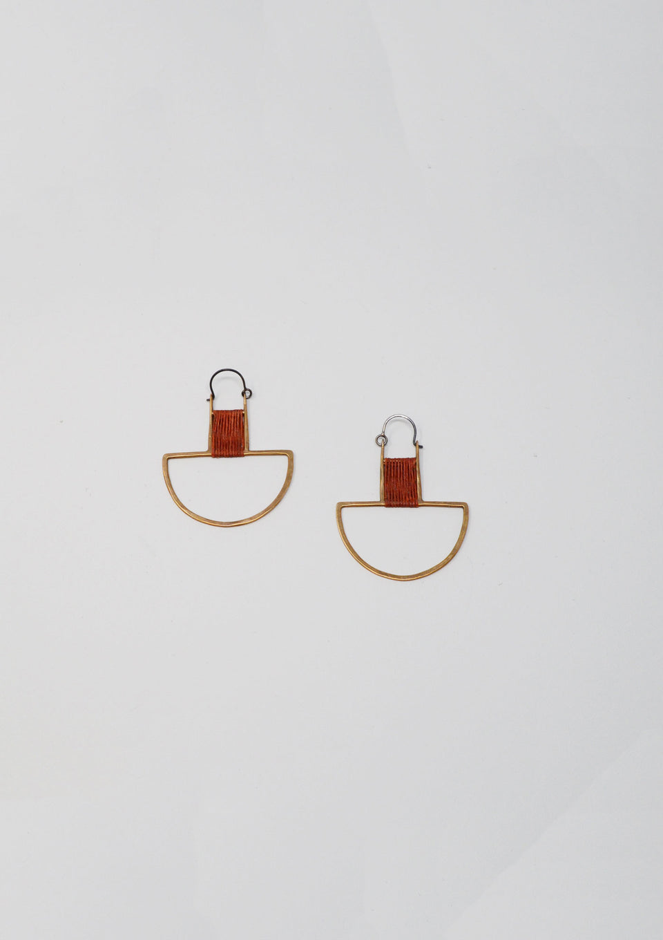 Cael Earrings in Rust - ANTHER a shop