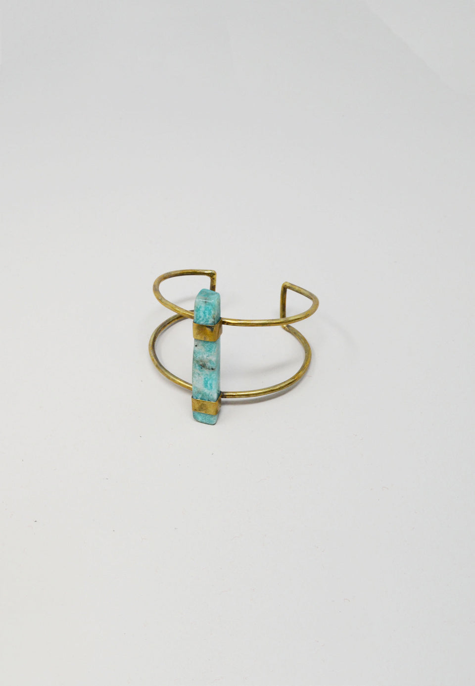 Ventina Cuff in  Amazonite - ANTHER a shop