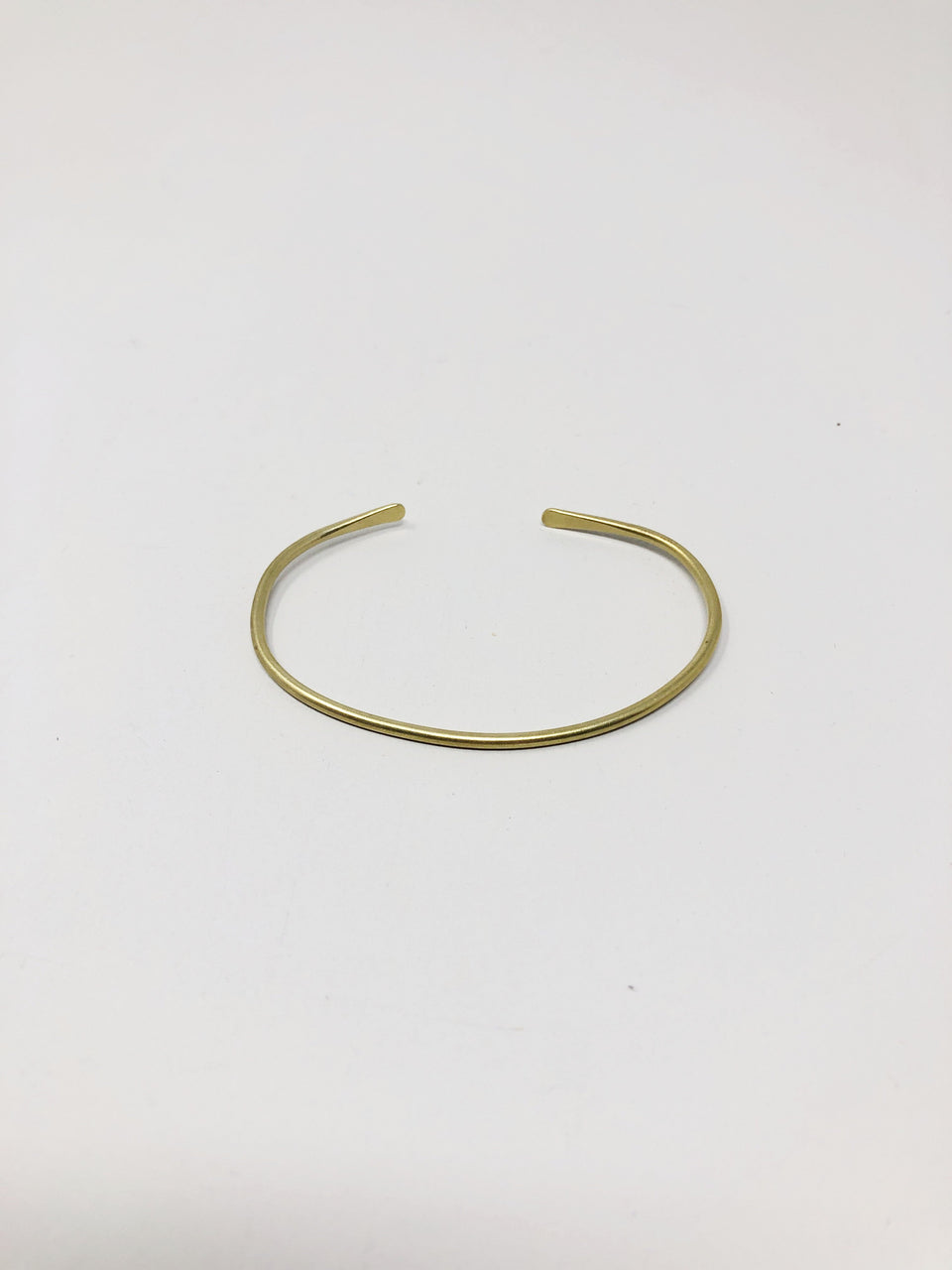 Simple Brass Cuff - ANTHER a shop