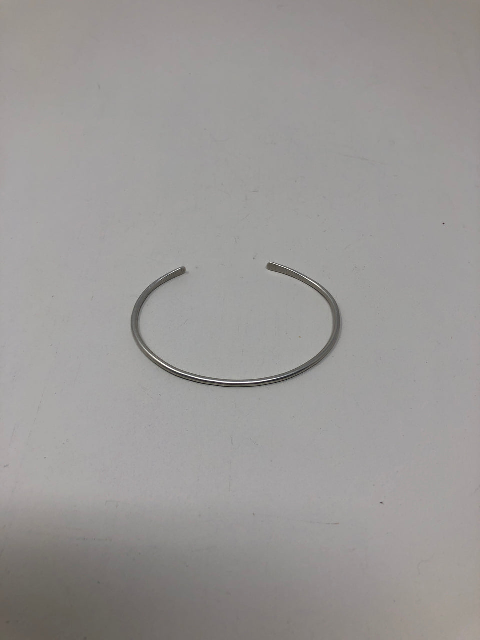 Simple Silver Cuff - ANTHER a shop