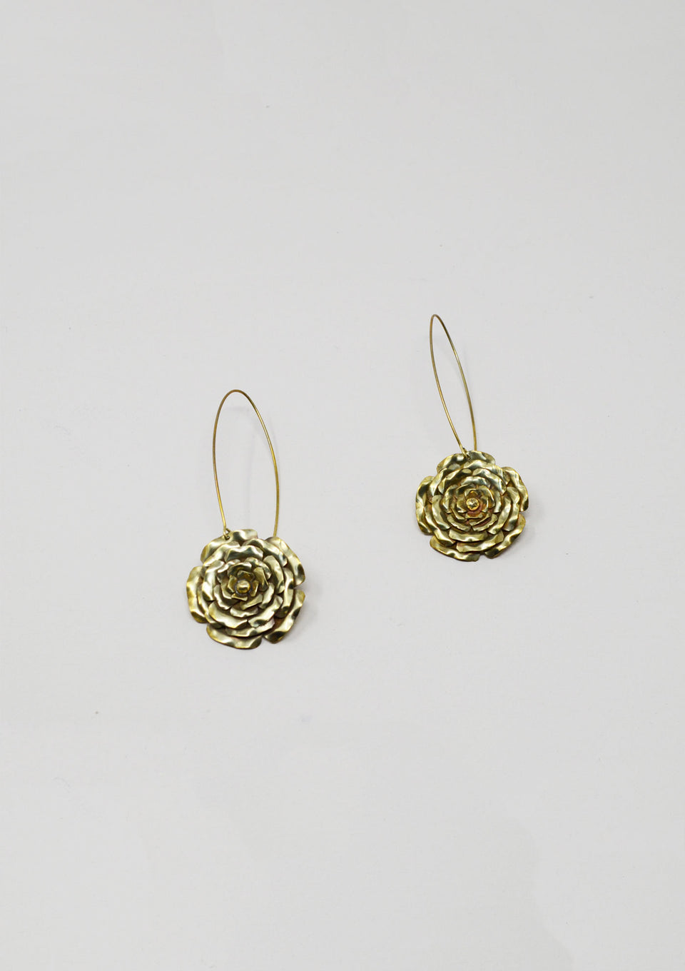 Riley Brass Earrings - ANTHER a shop