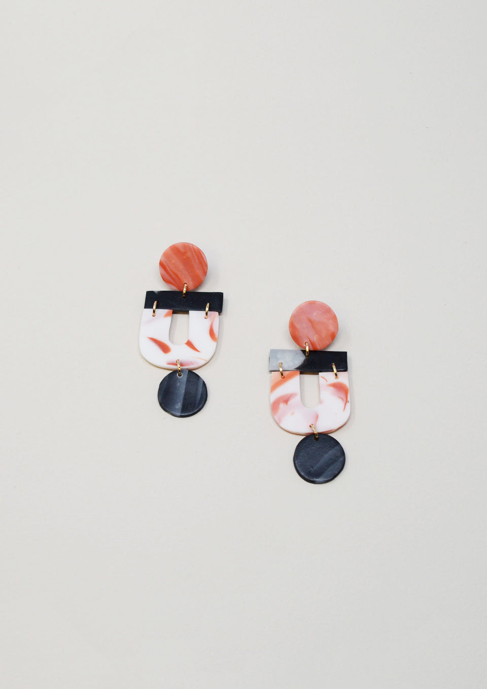 Tripto Earrings in Pink - ANTHER a shop