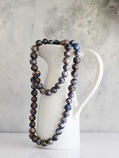 Skyscrape Blue Necklace - ANTHER a shop