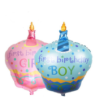 96cm 1pcs First Birthday Cake Foil Balloons