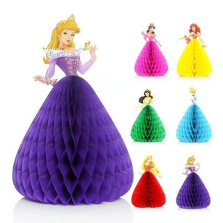 New Lovely Princess  3D Birthday Party Decoration