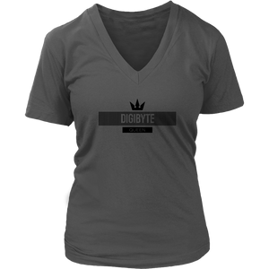 DGB Black V-Neck Queen