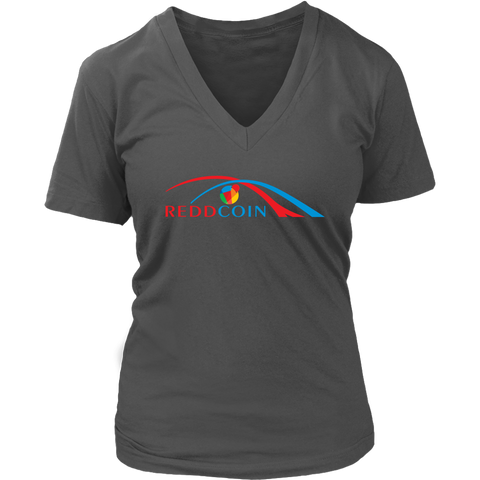 Reddcoin Women Arch V-Neck