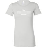 DGB White Bella Queen-T-shirt-CryptoBird