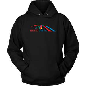 Reddcoin Arch Hoodie (Multi-Color)-T-shirt-Onyx Black-S-CryptoBird