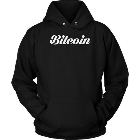 Bitcoin Calligraphy Hoodie (Multi-Color)-T-shirt-CryptoBird