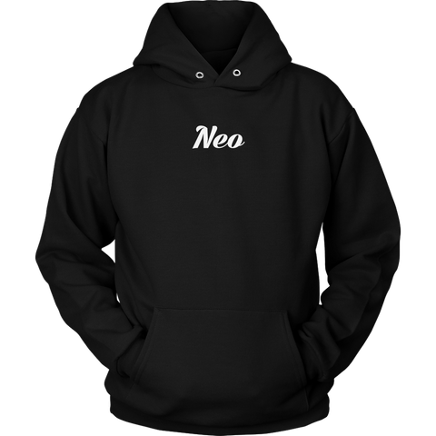 NEO Calligraphy Hoodie (Multi-Color)-T-shirt-CryptoBird