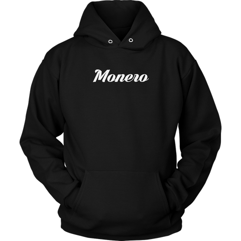 Monero Calligraphy Hoodie (Multi-Color)-T-shirt-CryptoBird