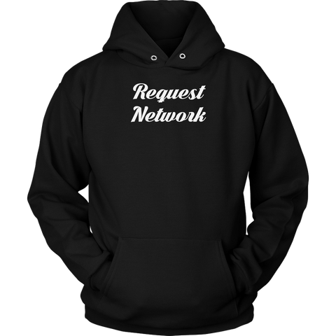 Request Network Calligraphy Hoodie (Multi-Color)-T-shirt-CryptoBird