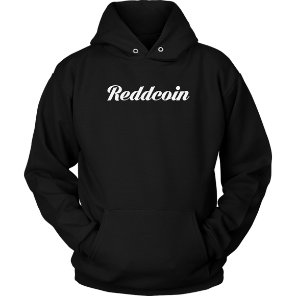 Reddcoin Calligraphy Hoodie (Multi-Color)-T-shirt-Onyx Black-S-CryptoBird