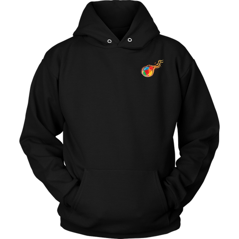Reddcoin Fire subtle Hoodie (Multi-Color)-T-shirt-CryptoBird