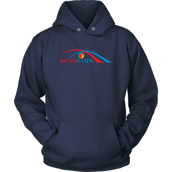 Reddcoin Arch Hoodie (Multi-Color)-T-shirt-Navy Blue-S-CryptoBird