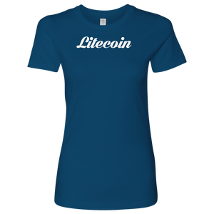 Litecoin Caligraphy Level Shirt