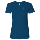 Ethereum Logo Level Shirt-T-shirt-CryptoBird