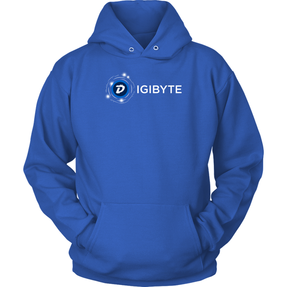 Digibyte Cosmos Hoodie (multi-color)-T-shirt-Royal Blue-S-CryptoBird