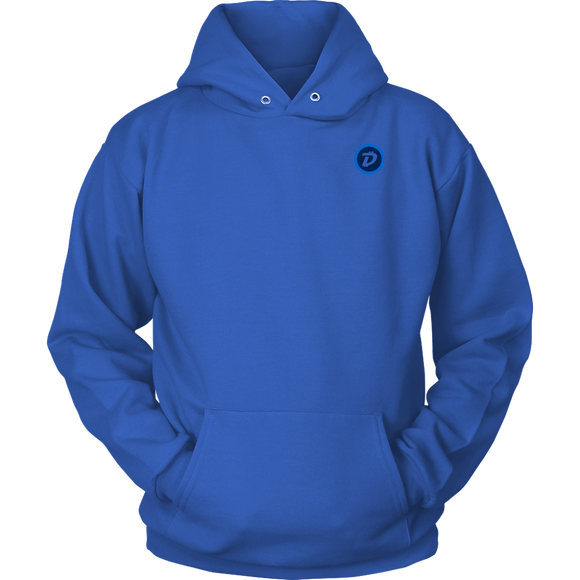 Digibyte Original Hoodie (multi-color)-T-shirt-Royal Blue-S-CryptoBird
