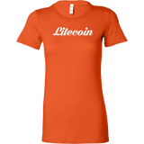 Litecoin Caligraphy Bella Shirt