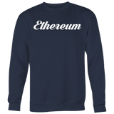 Ethereum Calligraphy Crewneck (Multi-Color)-T-shirt-CryptoBird