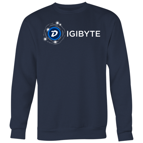 Digibyte Cosmos Sweater (multi-color)-T-shirt-CryptoBird