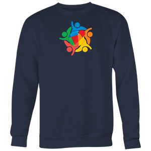 Reddcoin Community Sweater (Multi-Color)-T-shirt-Navy Blue-S-CryptoBird