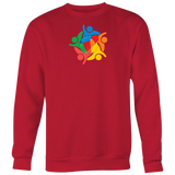 Reddcoin Community Sweater (Multi-Color)-T-shirt-Reddcoin Red-S-CryptoBird