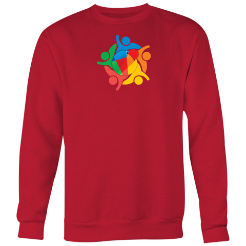 Reddcoin Community Sweater (Multi-Color)-T-shirt-CryptoBird