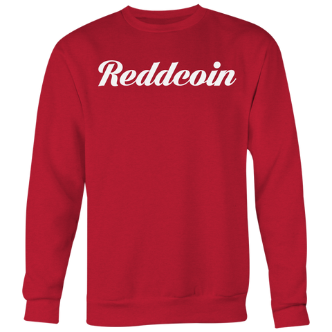 Reddcoin Calligraphy Crewneck (Multi-Color)-T-shirt-CryptoBird