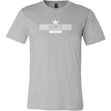 Digibyte White King Shirt (multi-color)-T-shirt-Ash Grey-S-CryptoBird